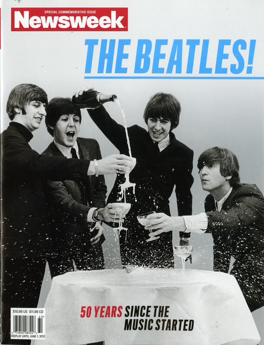 Newsweek THE BEATLES Commemorative Issue blog