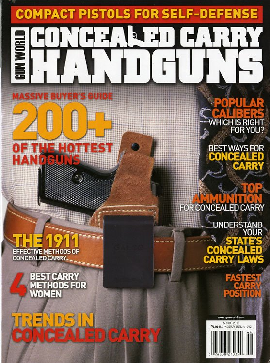 GUN WORLD CONCEALED CARRY HANDGUNS