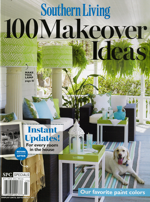 Southern living 100 makeover ideas 23 mr magazine Southern living change of address