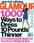 glamour 1000 ways to dress 10 lbs thinner