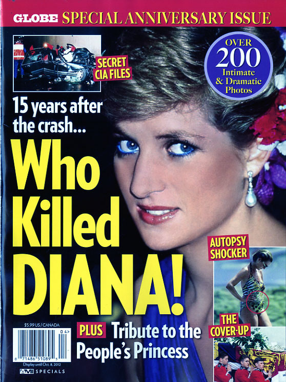 globe special who killed diana