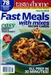 taste of home fast meals with mixes