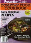 PREVENTION GUIDE COMFORT FOOD COOKBOOK