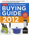 AMERICA'S TEST KITCHEN-BUYING GUIDE 2012