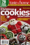 Taste of Home-Christmas Cookies recipe cards