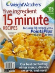Weight Watchers five ingredients 15 minute recipes