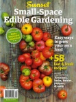 Sunset-Small-Space Edible Gardening