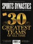 Sports Dynasties - 30 Greatest Sports Teams